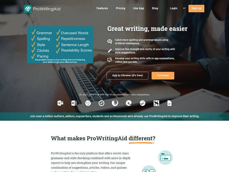 ProWritingAid Best Grammar Checker