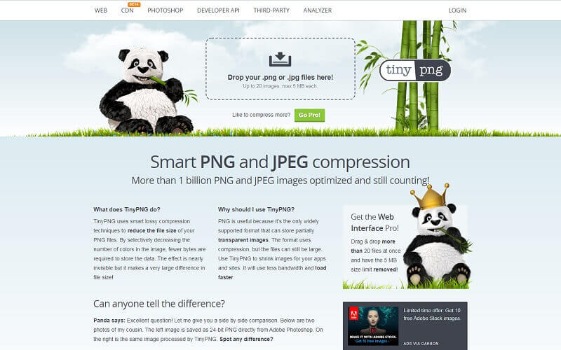 Best Image Compression Websites