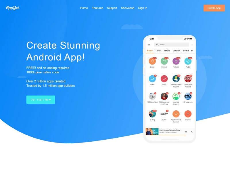 Best Android App Maker Websites