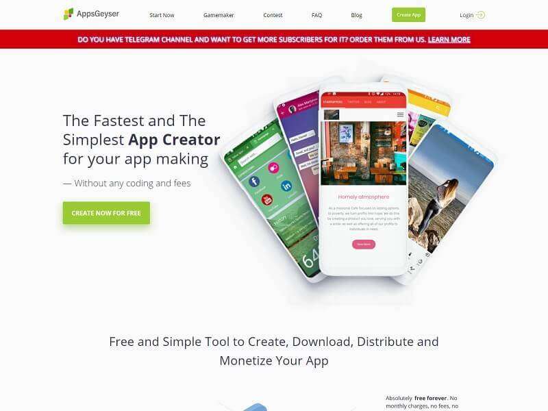 Apps Geyser