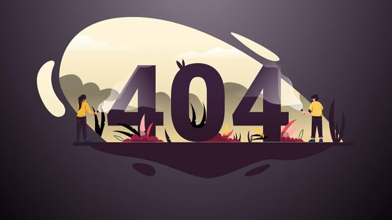404 Error Page By Swarup