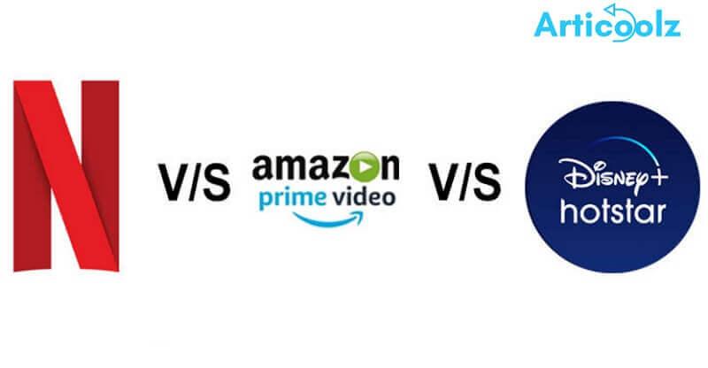 Netflix Vs Amazon Prime Vs Disney Hotstar