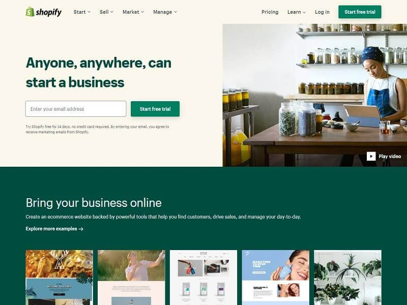 Best Sites To Sell Your Products Online: #Shopify