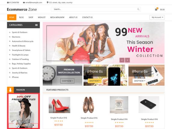 eCommerce Zone