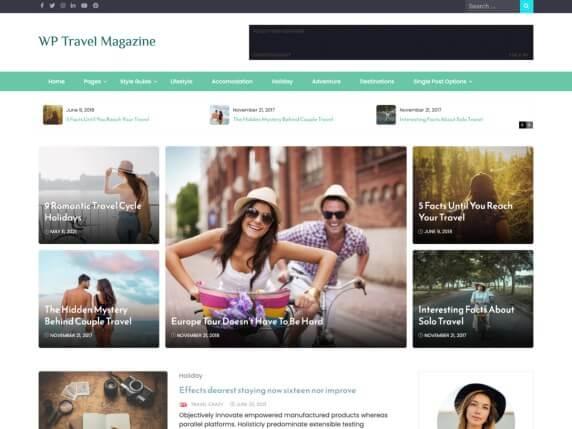 WP Travel Magazine