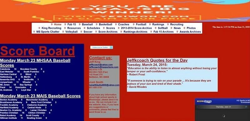 Badly Designed Web Design