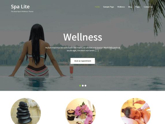 best free WordPress spa themes