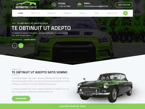 10 Best automobile WordPress themes