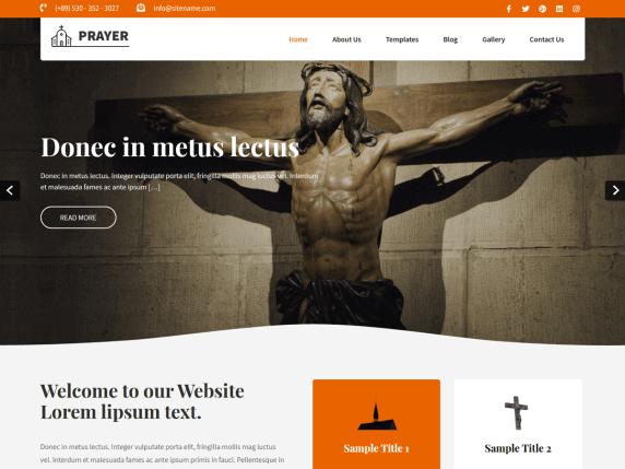 Best religion WordPress theme